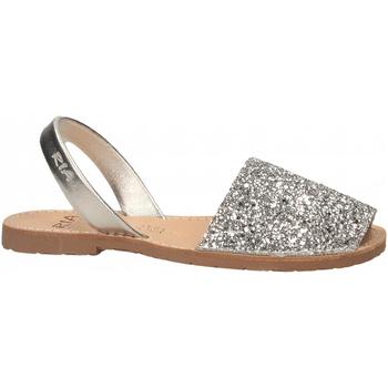 Zapatos Mujer Sandalias Ria METALIZADO plata