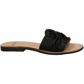 Zapatos Mujer Zuecos (Mules) Ria VELVET nero