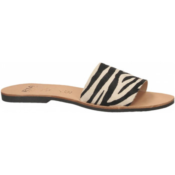 Zapatos Mujer Zuecos (Mules) Ria HORMA zebra