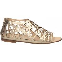 Zapatos Mujer Sandalias Now LAMIER platino