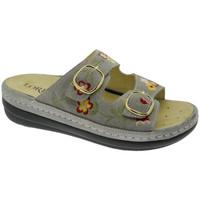 Zapatos Mujer Zuecos (Mules) Calzaturificio Loren LOB5021ta tortora
