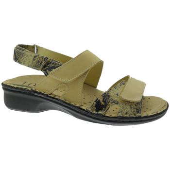 Zapatos Mujer Sandalias Calzaturificio Loren LOM2833ta tortora