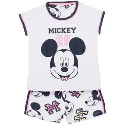 textil Niña Pijama Admas Camiseta de pijamas Mickey 28 Disney blanco Blanco