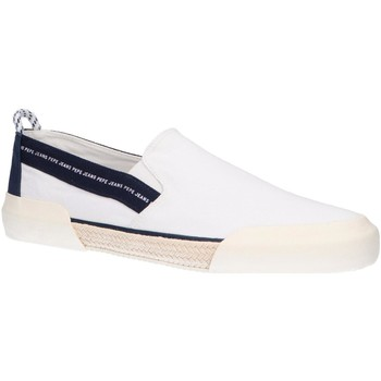 Zapatos Hombre Slip on Pepe jeans PMS10277 CRUISE SLIP ON Blanco