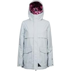 textil chaquetas de deporte L1 Outerwear JUNO POWDER Gris