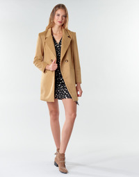 textil Mujer Abrigos Betty London LORDLY Beige