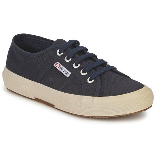 Zapatos especiales para hombres y mujeres Superga 2750 CLASSIC Marino