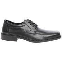 Zapatos Hombre Derbie Rieker B081200 Negros