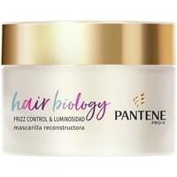 Belleza Acondicionador Pantene Hair Biology Frizz & Luminosidad Mascarilla  160 ml