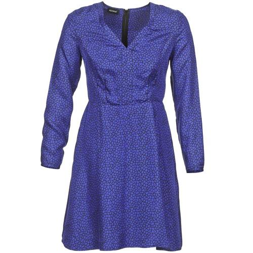 Cortos Vestidos Marino Textil Kookaï Mujer Radiabe fgb76yY