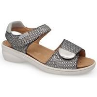 Zapatos Mujer Sandalias Calzamedi FRESH STYLE NEGRO_BLANCO