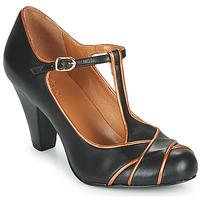 Zapatos Mujer Zapatos de tacón Cristofoli MESTIS Negro / Bronce