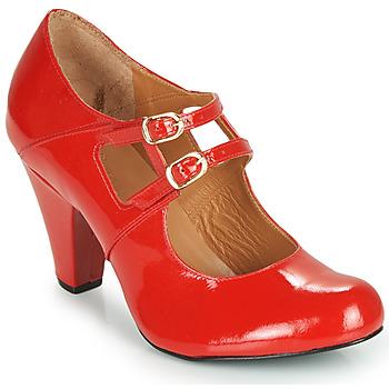 Zapatos Mujer Zapatos de tacón Cristofoli MASTIS Rojo / Barniz
