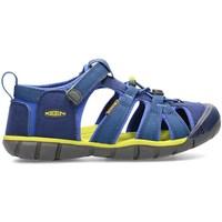 Zapatos Niños Sandalias Keen Seacamp II Cnx Grafito,Verde olivo,Azul