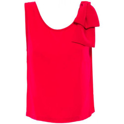textil Mujer camisetas sin mangas Luckylu TOP CADY 0511-ciliegia