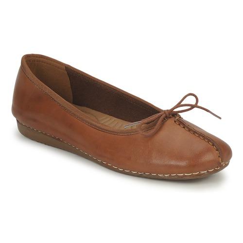 Zapatos Mujer Bailarinas-manoletinas Clarks FRECKLE ICE Marrón