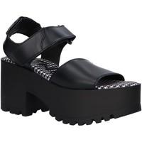 Zapatos Mujer Sandalias MTNG 50735 Negro