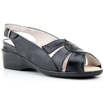 Zapatos Mujer Sandalias Cbp - Conbuenpie Sandalias anatómicas de piel by CBP Noir