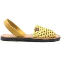 Zapatos Mujer Sandalias Popa California Jaune 30907 008 Amarillo