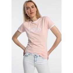 textil Mujer Camisetas manga corta Lois T Shirt Rose 420472094 Rosa