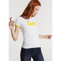 textil Mujer Camisetas manga corta Lois T Shirt Blanc 420472094 Blanco