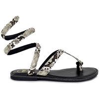 Zapatos Mujer Sandalias Exé Shoes SANDALIA PLANA SNAKE VF1181-1 Color Estampado