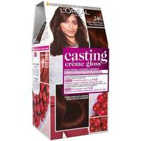 Belleza Coloración L'oréal Casting Creme Gloss 246-negro Efecto Henna 7 u