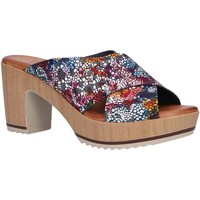 Zapatos Mujer Zuecos (Mules) Valeria's 6235000 Azul