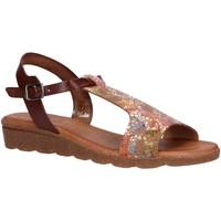Zapatos Mujer Sandalias Valeria's 6116003 Marr?n
