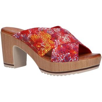 Zapatos Mujer Zuecos (Mules) Valeria's 6235003 Rojo