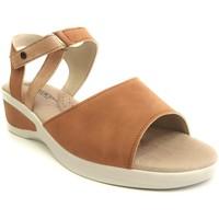 Zapatos Mujer Sandalias Arcopedico MERLYN NUBUCK BEIG BEIG