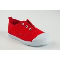 Zapatos Niña Zapatillas bajas Vulca Bicha Lona niño  625 rojo Rojo