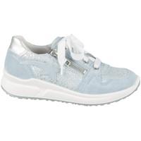 Zapatos Niños Zapatillas bajas Superfit 06061858500 Plateado, Celeste