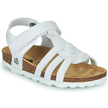 Zapatos Niña Sandalias Citrouille et Compagnie JANISOL Blanco