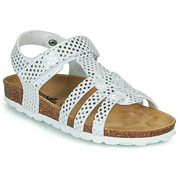 Zapatos Niña Sandalias Citrouille et Compagnie MALIA Blanco