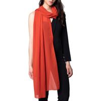 Accesorios textil Mujer Bufanda Akè F691XALAK43C Arancio