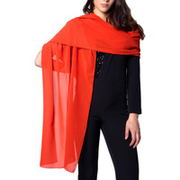 Accesorios textil Mujer Bufanda Akè F691XALAK43C Rosso