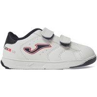 Zapatos Niños Zapatillas bajas Joma Zapatillas  Ginkana Jr 2032 Blanco-Marino Blanco