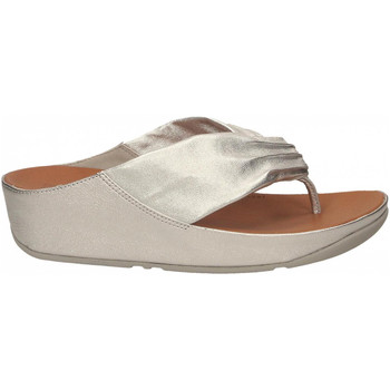 Zapatos Mujer Chanclas FitFlop TWISS silver