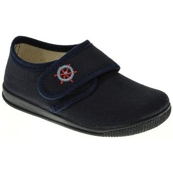 Zapatos Niño Pantuflas Cumbres LONA NIÑO  MARINO Azul
