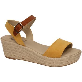 Zapatos Mujer Alpargatas Ruiz Bernal CuÑa mostaza ambar