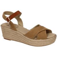 Zapatos Mujer Alpargatas Ruiz Bernal Sandalia tecno arena Marrón