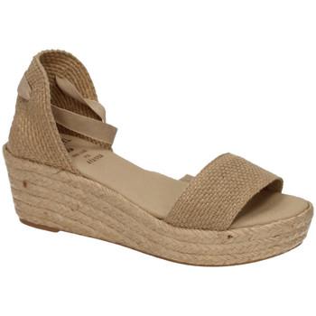 Zapatos Mujer Alpargatas Ruiz Bernal Sandalia cuÑa sparto Marrón