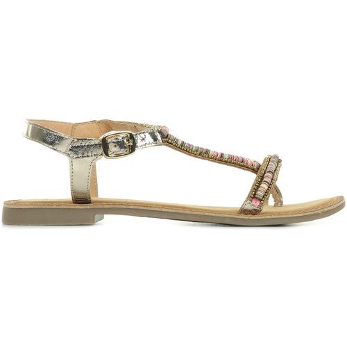 Zapatos Mujer Sandalias Les Petites Bombes Alexia Oro