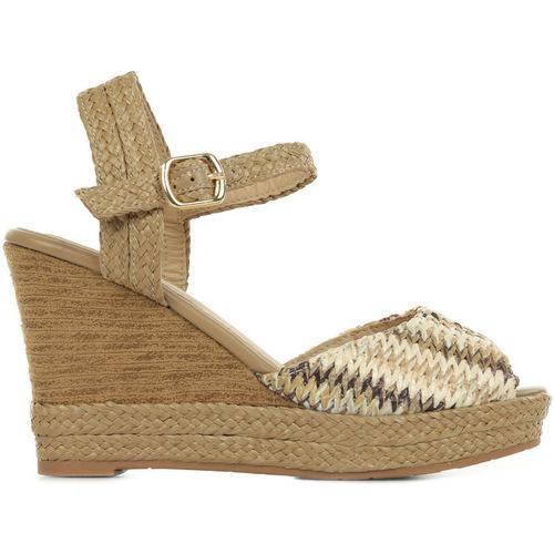 Zapatos Mujer Sandalias Les Petites Bombes Paola Choco Beige