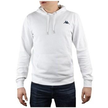textil Hombre Sudaderas Kappa Vend Hooded Blanco