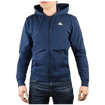 textil Hombre Sudaderas Kappa Veil Hooded Azul marino