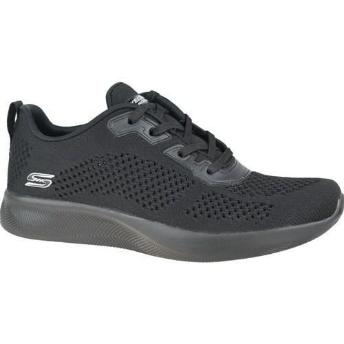 Zapatos Mujer Zapatillas bajas Skechers Bobs Squad 2 Negros