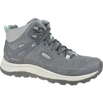 Zapatos Mujer Senderismo Keen W Terradora II Mid WP Grises