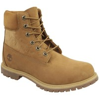 Zapatos Mujer Zapatillas altas Timberland 6 IN Premium Boot W Marrón